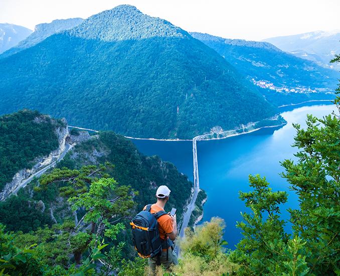 Lake piva montenegri