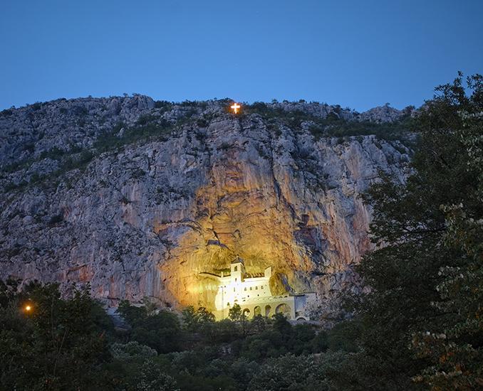 Monastery Ostrog Montenegro