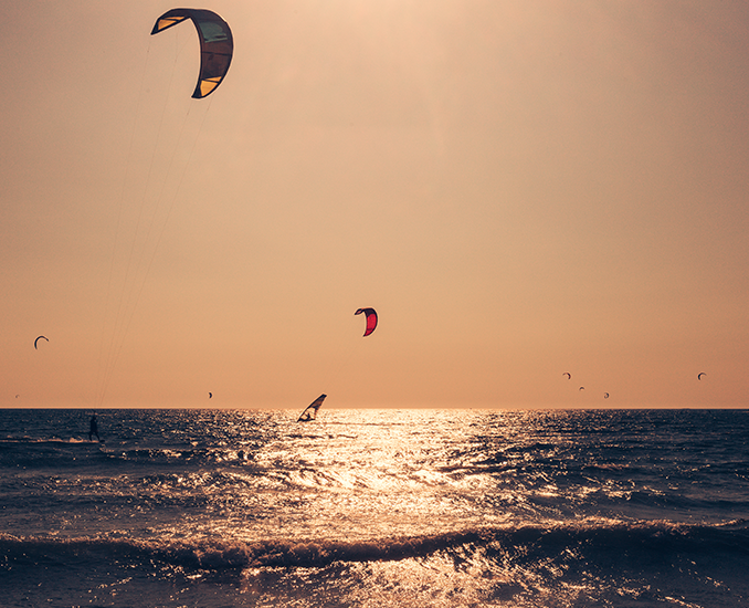 kite surfing montenegro