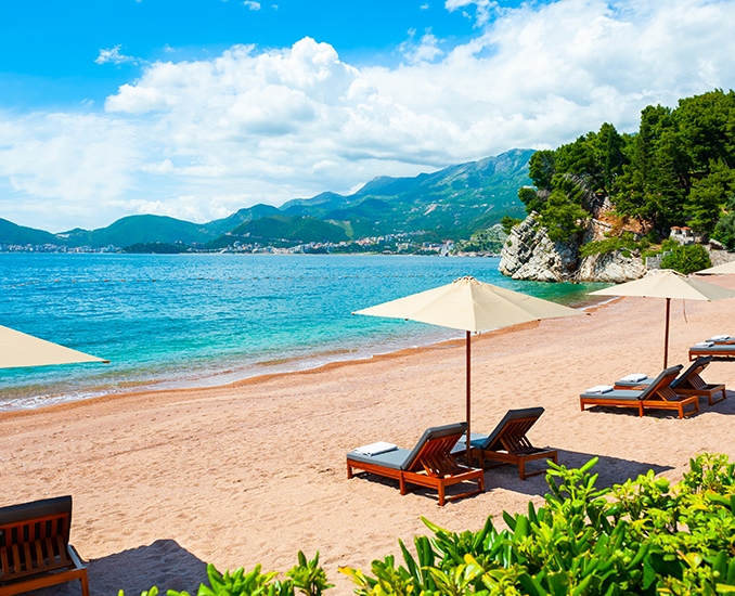 best beaches in budva