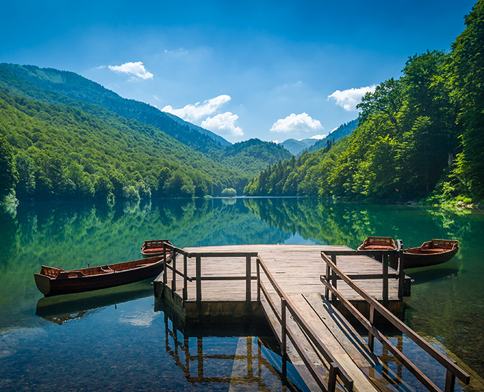 Biograd lake kolasin montenegro