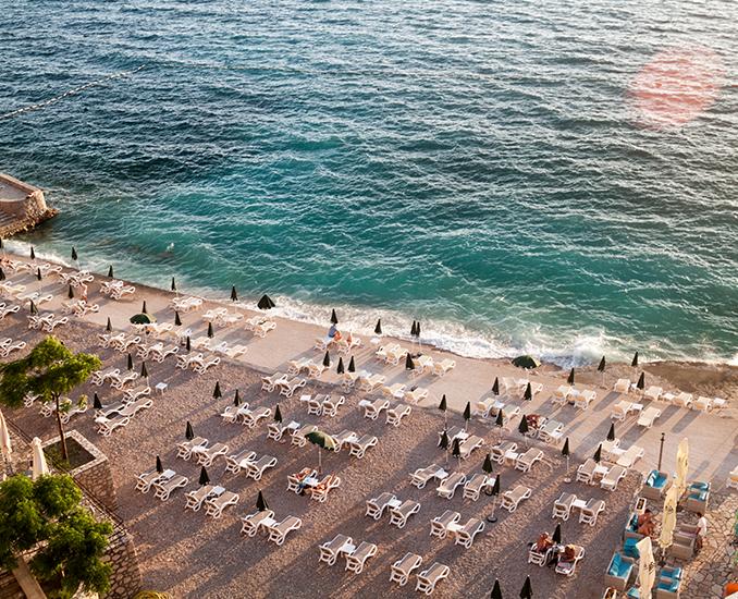 beaches in bar montenegro