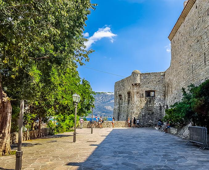 будва цитадель старый город Будва , Черногория Будва , Черногория old town budva citadel