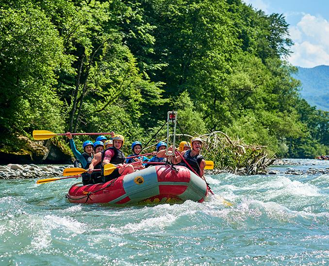tara river rafting canoyn durmitor montenegro