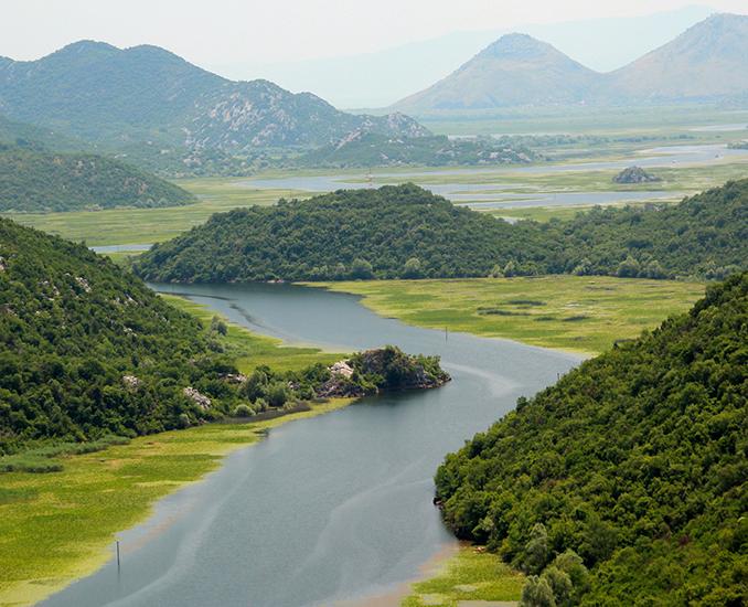 hiking lake skadar montenegro