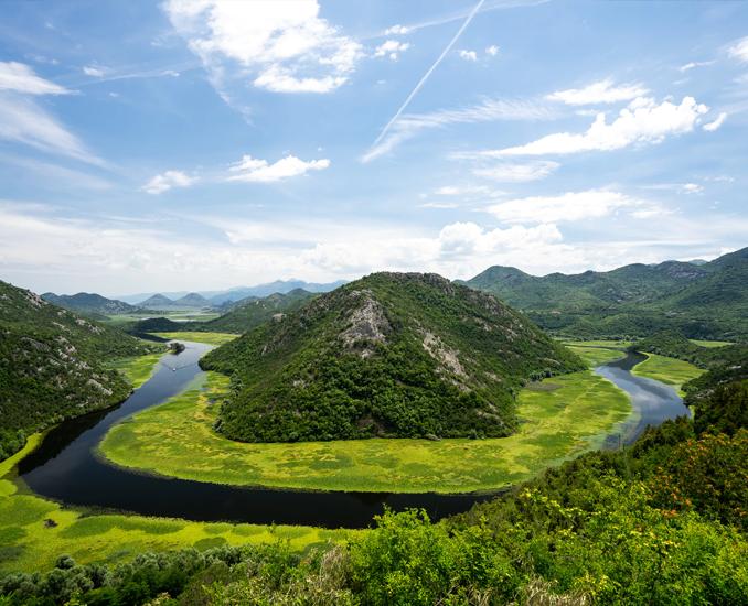 skadar lake rijeka crnojevica